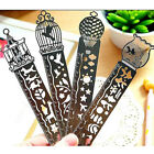 10cm Stainless Steel Ruler 3in1 Measure Bookmark Shaper Hollow Fairy Drawing Hot