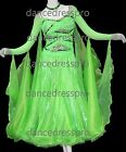 #2348 Ready-made Ballroom Modern Waltz Tango Dance Dress