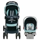 Graco Comfy Cruiser Click Connect Travel System - Stratus New with Free Shipping