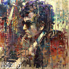 Bob Dylan 'Like a Rolling Stone' Colorful Painting Poster or Art Print