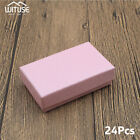 1/24X Square Gift Boxes For Ring Bracelet Necklace Jewelry Storage Present Cases