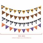 Spooky Halloween Party Haunted House Hanging Garland Pennant Banners Decor