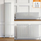 Traditional Radiator 3 Column White Cast Iron Style Central Heating Rads UK