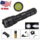 Tactical LED Flashlight with Rail Mount 5000lm Green Red Hunting Torch Gun LightLights & Lasers - 106974