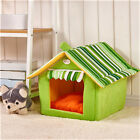 Foldable Pet House Dog Cat Warm Bed Pad Soft Kennel Mat Puppy Cushion Basket