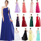 Ever-Pretty Plus One Shoulder Long Prom Evening Gowns Bridesmaid Dresses 09816