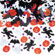 Spider Web Ghosts Pumpkin Trick Toy Party Halloween Haunted House Prop Decor