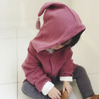 Casual Baby Boy And Girls Long Sleeve Lovely Hooded Coat Hoodies Sweater Outwear