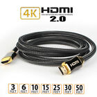 HDMI Cable 4K Support Ethernet 28AWG Golden PlateConnector-Audio Return,VideoPS4