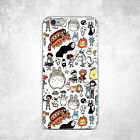 Totoro Spirited Away Anime Soft Silicone TPU Rubber Case iPhone 6 S 7 8 Plus X