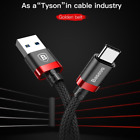 Baseus USB-C Type C 3A FAST QC 3.1 USB Charging Sync&Charger Cable Charger Cord