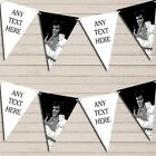 Black White Elvis Presley Birthday Bunting Garland Party Banner