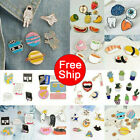 New Lovely Cute Cartoon Enamel Lapel Collar Pin Corsage Brooch Fashion Jewelry image