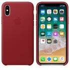 Original Leather Protective Case Cover For iPhone X Genuine Premium Quality OEM
