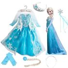 Girls Frozen Princess Queen Elsa Disney Cosplay Costume Part