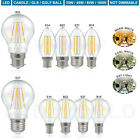 ' Energy Saving Led Light Bulb Clear Gls Candle Globe E27 B22 E14 B15 Lightbulb