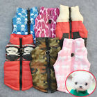 Pet Cat Dogs Puppy Padded Vest Harness Small Dog Warm Clothes Coats Apparel USA