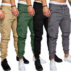Mens Sports Summer Trousers Cargo Combat Stylish Slim Casual Work Long Pants Gym