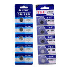 5pcs YCDC CR2025 CR2032 CR1216 CR1220 3V Coin Cell Button Batteries For Watch