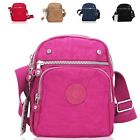 Ladies Canvas Sports Style Cross Body Bag Shoulder Bag Travel Handbag 8047