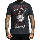 Sullen Art Collective Clothing T-Shirt - World Tour Grim Reaper Tattoo