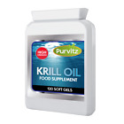 SUPERBA 100% Pure Red Krill Oil Capsules 500mg High Strength
