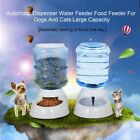 3.5L Pet Dogs Cat Puppy Automatic Bowl Water Drinker Dispenser food Feeder FI
