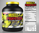 Colossal labs Whey Protein powder 5 lbs Monster Muscle 100% Cold Filtered