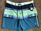 $55 BRAND NEW HURLEY PHANTOM MENS BOARD SHORTS ROLL OUT BDST 38 x 18
