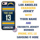 Los Angeles Chargers Phone Case Cover for iPhone X 8 PLUS iPhone 7 6 ipod 6 etc. $17.98 USD on eBay