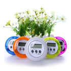 Timer Alarm Clock Cooking LCD Kitchen Digital Count-Down Up Multi-Color D0G7J
