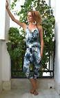 JUMP SUIT  Overalls Baggy All-in-one low crutch festival Harem FREE Post to UK