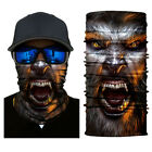 1PC 3D Face Sun Mask Headwear Neck Gaiter Magic Scarf Balaclava Bandana Headband