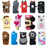 3D Cartoon Bear Unicorn Minnie Silicone Phone Case For iPhone X SE 5 6 7 8 Plus