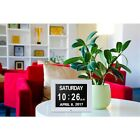 7 inch Digital Clock Multi-language Wall Mount LED Desktop ABS Calender for Home