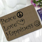 Funny Saying Quotes Welcome Doormat Rubber Indoor Bathroom Floor Mats Thin
