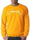 New Way 925 - Crewneck Metallica Metal Rock Band Logo