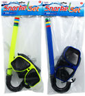 Mask & Snorkel Kit Child Learn To Swim Class Kids Goggle Beach Cruise Waves Lake