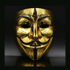 1A02 New V Vendetta Mask Anonymous Halloween Costumes Party Supplies Hot-Sale