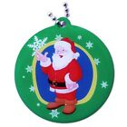 Father Christmas, Xmas Snowman or Christmas Dog Travel Bug Tag for Geocaching