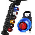 Led Bicycle Cycling Front Rear Tail Helmet Safety Bike Flash Light Warning Lamp