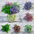 Artificial Plants Succulents Garden Grass Fall Leaves Mean Forever Wedding Decor