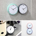Bathroom Kitchen Waterproof Suction Cup Wall Clock Decor Shower Timer Decor US
