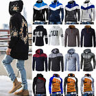 Mens Hoodies Pullover Coats Jacket Sweater Hooded Sweatshirt