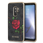 Guess TPU Hard Case for Samsung Galaxy S9 Plus with Rose Drop Protection