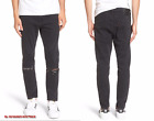 LEVI'S 510 Men Spread Cotton Ripped Skinny Jeans in Black Ash NEW NWT