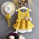 3pcs toddler baby kid girl outfits clothes