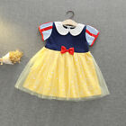 Princess Elsa Anna Dress Fancy Costume Girls Kid Party Cosplay Halloween Outfit