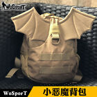Tactical Camouflage Bags Pack Child Nylon Devil Demon Wing Backpack For Kid Girl