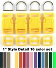 Dog Collar HARDWARE KITS 16 Color Assortment Set 5 sizes to choose from R-16